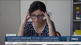 Students prepare to pay loans again