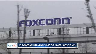 PolitiFact Wisconsin: How many jobs is Foxconn bringing - Video