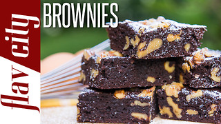 Chocolate brownies - Gluten & dairy free - Video