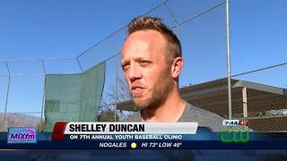Shelley Duncan youth baseball clinic - Video