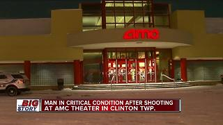 Argument leads to shooting inside Clinton Township movie theater - Video