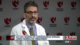 As CDC warns of Coronavirus spread, UNMC begins to test possible treatment