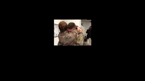 Military Couple's Heartwarming Reunion Will Bring You to Tears
