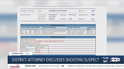 In-Depth: Bakersfield district attorney discusses shooting suspect