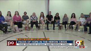Faces of hope in the heroin crisis - Video