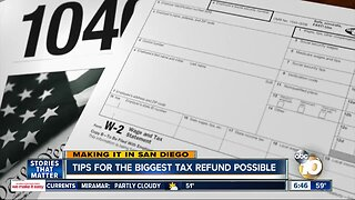 Experts offer tips on how to get a bigger tax refund