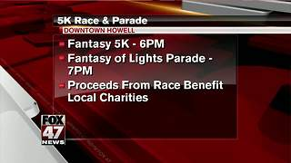Howell hosts 5K before Fantasy of Lights parade - Video