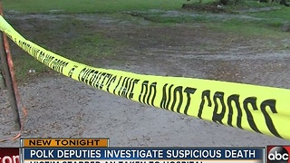 Suspicious death - Video