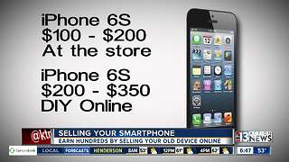 How much can you sell your smartphone for? - Video