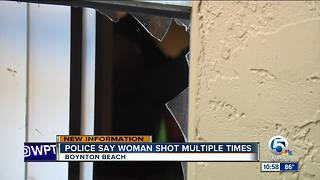 52-year-old woman shot multiple times inside Boynton Beach apartment complex
