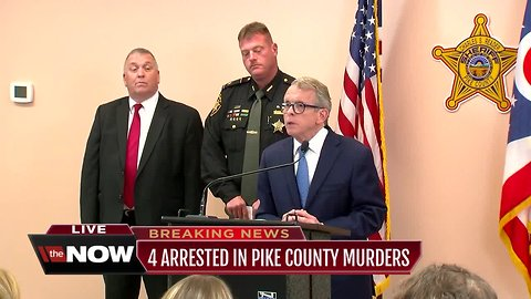 Pike County massacre arrests new conference