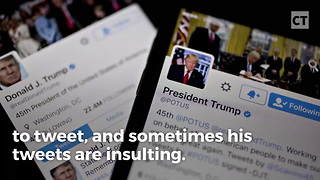 Trump Wins Lawsuit Over Tweets - Video