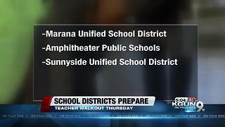 Arizona Teacher Walkout: How school districts are preparing for walkout - Video