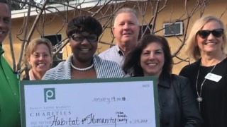 Single mother of 3 gets Habitat for Humanity home