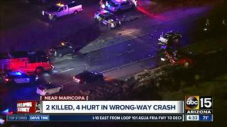 Two killed in wrong-way crash on SR-347