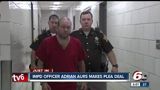 Plea filed in IMPD officer Adrian Aurs' attempted murder case - Video