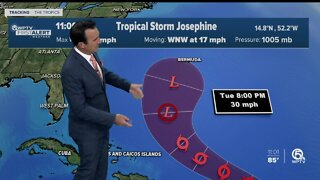 Tropical Storm Josephine forms in Atlantic Ocean, not expected to impact South Florida's weather