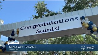 Schools celebrate end of year with parade
