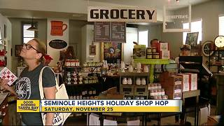 Holiday Shop Hop spotlights Seminole Heights businesses - Video