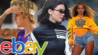 eBay Selling Justin Bieber's, Kendall Jenner's & Beyonce's Sweaty Clothing