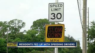 Residents fed up with speeding drivers in Largo