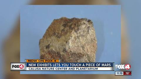 Martian meteorite winds up in Fort Myers