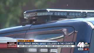 JCCC ranked among safest college in the country