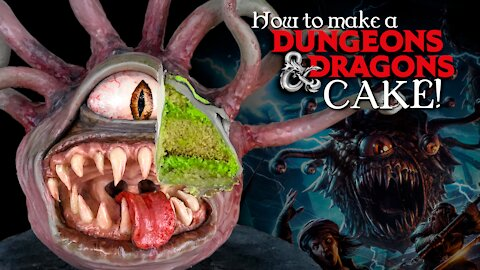 How to make a realistic 'Dungeons & Dragons' cake