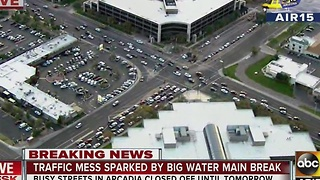 MORE: Water main break causing traffic in Phoenix - Video