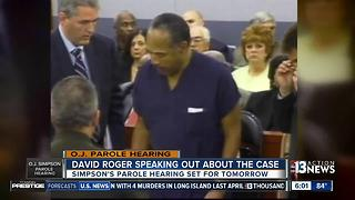 Former District Attorney who prosecuted O.J. Simpson robbery case speaks ahead of parole hearing - Video