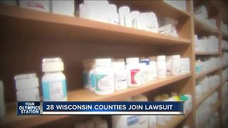 Wisconsin lawsuit blames drug makers for opioid crisis