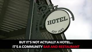 Get a first look inside the rebuilt South Lyon Hotel - Video