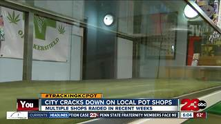 Bakersfield cracks down on medical marijuana dispensaries - Video