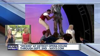 """Wicked"" takes the stage at Detroit Opera House through September 2"