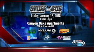 Help us 'Stuff the Bus' and help the community in need - Video