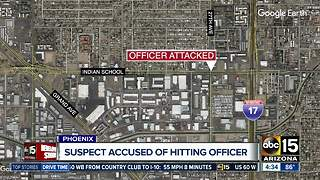 Off-duty Phoenix officer taken to hospital after assault, police say - Video