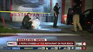 Stabbing suspect turns himself into police