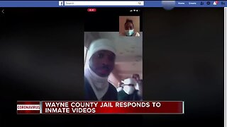 Wayne County Jail responds to viral inmate videos