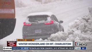 Rough roads on Mount Charleston