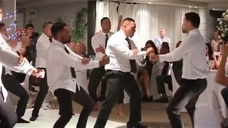 Bride and Groom Delight Guests With Haka Performance - Video