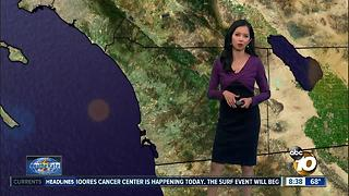 10News Pinpoint Weather with Melissa Mecija - Video