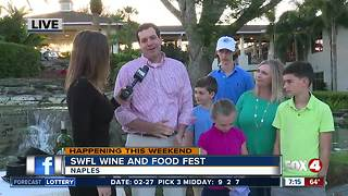 Southwest Florida Wine and Food Festival to benefit children -- 7am live report - Video