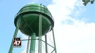 Water tower will get cleaned, repainted - Video