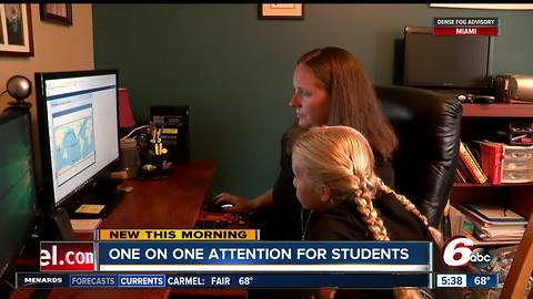 Hoosier Academies provides one-on-one attention for students