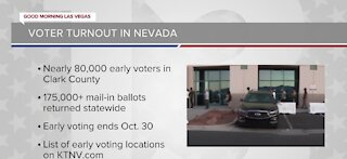 Record-breaking voter turnout in Nevada