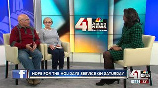 Hope for the Holidays service on Saturday - Video