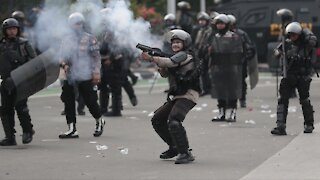 Indonesian Police Detain Hundreds Of Protesters In The Capital