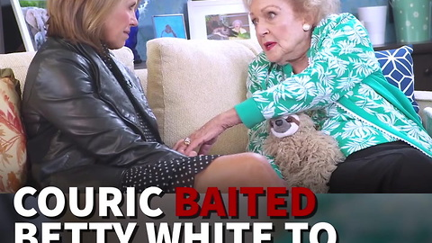 Couric Baited Betty White To Trash Trump But Got Shock Answer