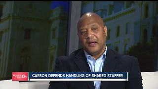 Andre Carson defends handling of shared staffer - Video