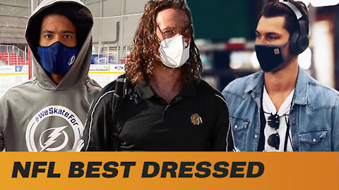 The Best, The Worst & The Most WTF Fashion Moments From Inside The NHL Bubble